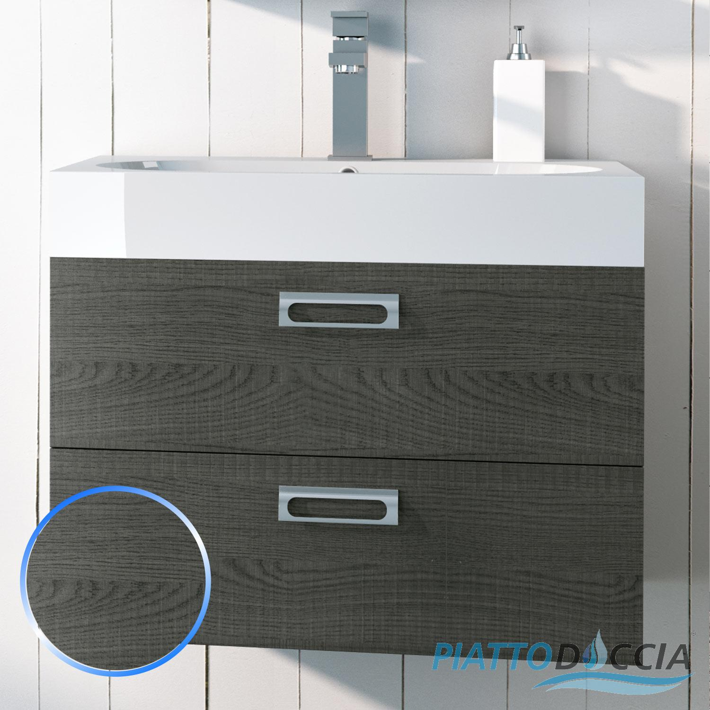 Base mobile da bagno 60 cm sospeso arredo moderno design for Mobile bagno moderno ebay