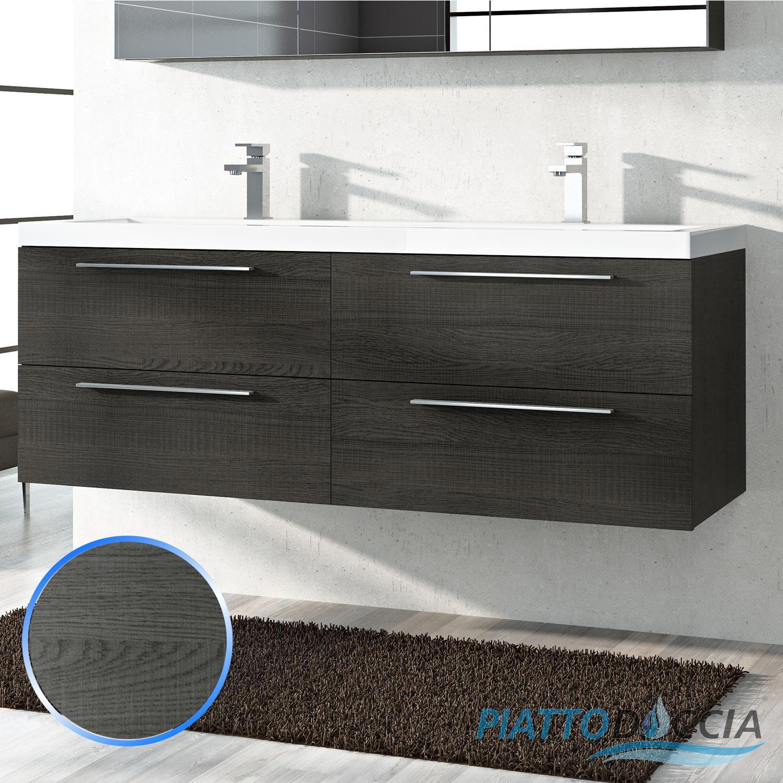 Base mobile da bagno sospeso arredo moderno design legno for Arredo bagno lavabo sospeso