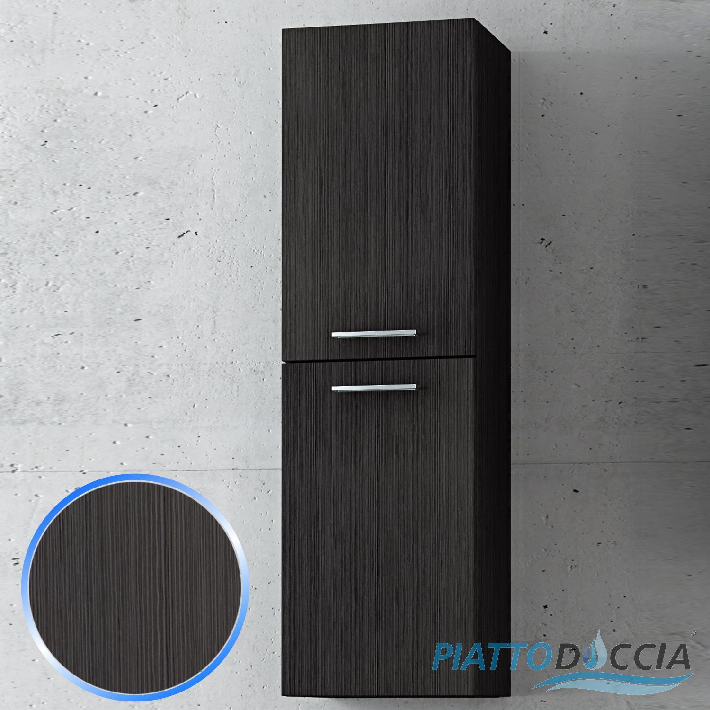 PENSILE SOSPESO MODERNO ARREDO DESIGN MOBILE DA BAGNO LEGNO 4 COLORI 30x100 CM  eBay