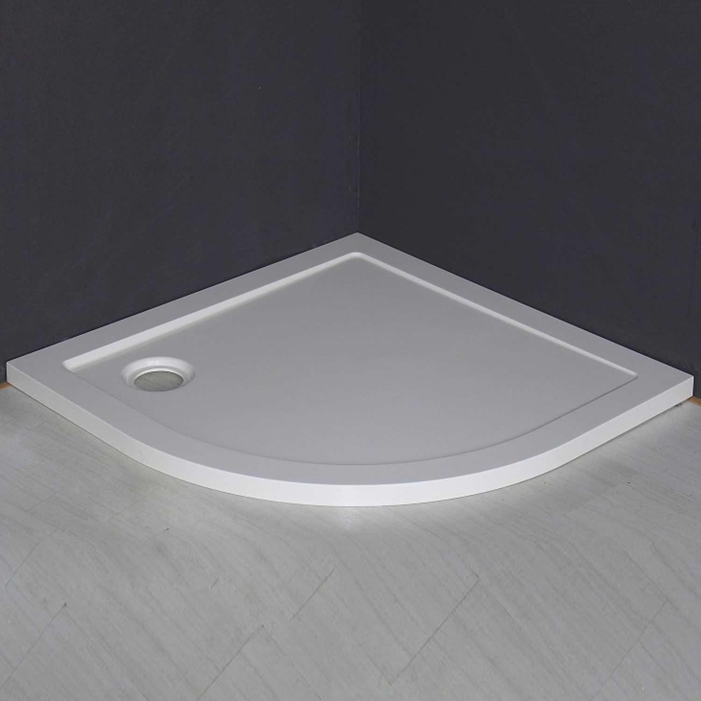 Piatto doccia smc 80x80 semicircolare filo pavimento - Piatto doccia incassato nel pavimento ...