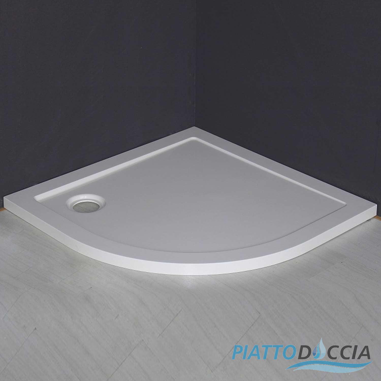 Piatto doccia bagno smc filo pavimento quadrato angolare - Piatto doccia incassato nel pavimento ...