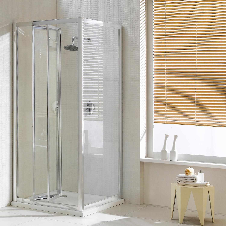 Box cabina doccia angolare porta a libro soffietto anta cristallo parete profilo ebay - Cabine doccia a soffietto ...