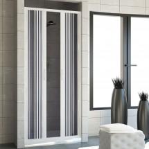 Porta doccia in PVC mod. Vergine con apertura centrale
